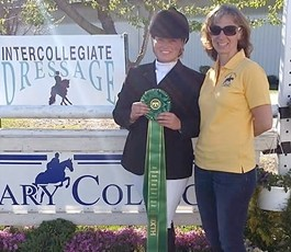 Congratulations to Alexan Parker on her 6th place finish at the 2016 Intercollegiate Dressage Association National Championships