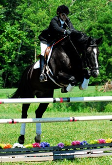 Students that major in Jumping at Meredith Manor have 4 one hour jumping classes and 4 one hour flat work classes per week.