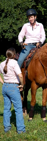 Students at Meredith Manor are prepared for successful, equestrian careers.