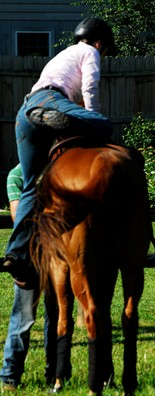 Time in the saddle is one of the most important considerations when choosing a horse school.